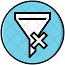 Clear Filter Funnel Icon