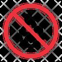 No Fire Prohibition Forbidden Icon