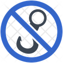 Hook No Fishing Restriction Icon