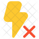 No Flash Flash Off Flash Icon