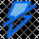 No Flash Lightning Light Icon