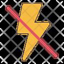 No Flash Icon