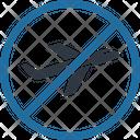 No Flight During Coronavirus Icon