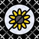Stop Flower Allergy Icon