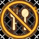 No Food Prohibited Food Prohibited Icon