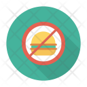 No Food Block Notallowed Icon