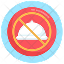 No Eating No Food Avoid Eating Icon