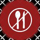 No Food Food Forbidden Icon