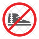 No Footwear Shoes Icon