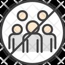 No Gathering Icon