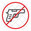 No Gun Prohibited Icon