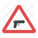 No Gun Sign Icon