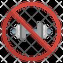 No Gym Icon