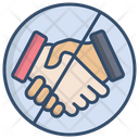No Hand Shake Avoid Handshake Handshake Icon