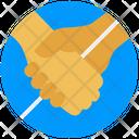No Handshake Coronavirus Covid Icon