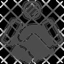 No Handshake Hands Forbidden Icon