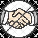 Handshake Hands Touch Icon