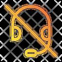 No Headphones Icon