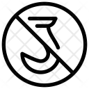 No Hoist Icon