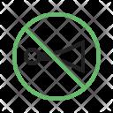 No horn Icon