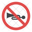 No Horn Road Icon