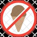 No Ice Cream Icon