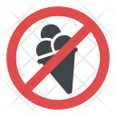No Ice Cream Disallowed Icon