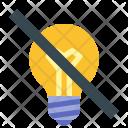 No Idea Innovation Icon