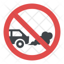 No Idling Sign Icon