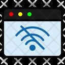No Internet No Wifi Offline Icon