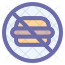Forbidden No Junk Icon