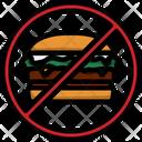 Hamburger Burger Fitness Icon