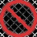 No Kids Kids Not Allowed Kids Prohibition Icon