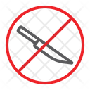 No Knife Sharp Icon