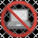 No Laptop Icon