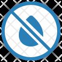 No Leakage Cancel Icon