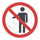 No Littering Sign Icon