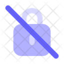 No-lock Icon