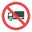 No Lorries Icon