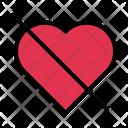 No Love Sad Icon