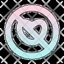 No Love Icon