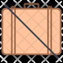 No luggage Icon