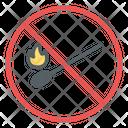 No Matchstick Icon