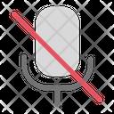 No Microphone Icon