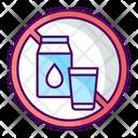 No Milk Icon