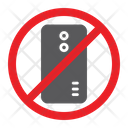 No Smartphone Prohibited Icon