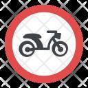 No Mopeds Icon