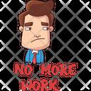 No More Work Icon