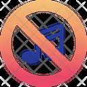 No Music Off Icon