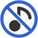 Music Sound Restriction Icon